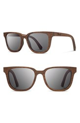 Women's Shwood 'Prescott' 52Mm Wood Sunglasses