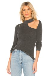 Bailey 44 Svetlana Choker Sweater Gray