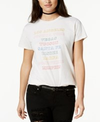 Ban.Do Ban. Do Cotton Cities Graphic T Shirt Ivory