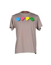 Upper Playground Topwear T Shirts Dove Grey