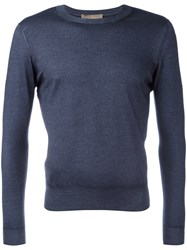 Cruciani Knitted Sweater Blue
