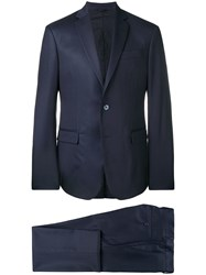 Versace Collection Two Piece Suit Blue