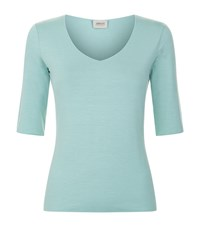Armani Collezioni Half Sleeve T Shirt Female Green