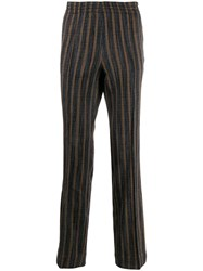 Missoni Striped Pattern Trousers Neutrals