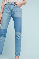 Anthropologie Levi's Made And Crafted Ultra High Rise Slim Jeans Denim Light