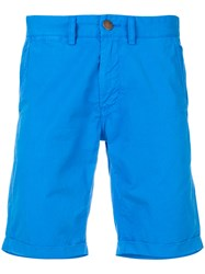 Sun 68 Chino Shorts Blue