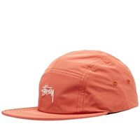 Stussy Stock Nylon Poly Camp Cap Orange