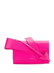 Delpozo Structured Design Crossbody Pink