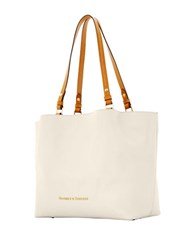 Dooney And Bourke City Leather Flynn Tote Bone