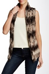 Tart Faux Fur Kai Vest Brown