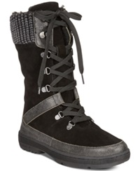 Bearpaw Serena Lace Up Cold Weather Hiking Booties Women's Shoes