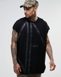 Asos Dark Future Oversized T Shirt With Black Oversized Df With Heavy Wash Black