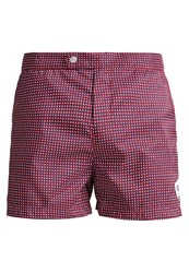Robinson Les Bains Ucla Swimming Shorts Caviar Red Dark Red