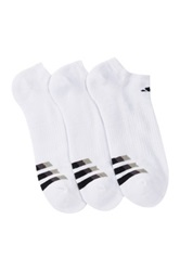 Adidas Cushioned Low Cut Socks Pack Of 3 White