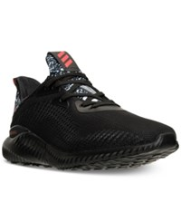 Adidas Men's Alpha Bounce Running Sneakers From Finish Line Black Red White Chinese N