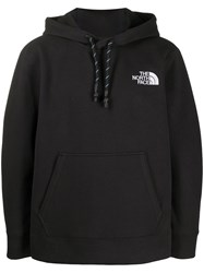 The North Face Chest Logo Hoodie Black