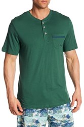 Tommy Bahama Basic Henley Tee Green