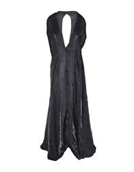 Iris Van Herpen Long Dresses Black