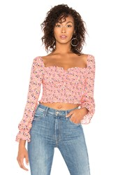 Likely Camilla Floral Arabella Top Rose
