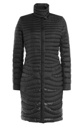 Salvatore Ferragamo Quilted Coat Black