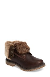 Timberland Women's Authentic Water Resistant Genuine Shearling Boot