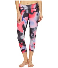Asics Crop Tights Carpe Diem Print Women's Workout Multi