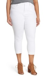Plus Size Women's Melissa Mccarthy Seven7 Stretch Crop Pencil Jeans