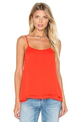 Karina Grimaldi Lina Solid Top Orange