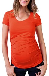 Isabella Oliver Women's Scoop Neck Maternity Tee