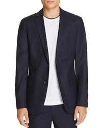 Theory Simons Sateen Slim Fit Sport Coat 100 Bloomingdale's Exclusive Eclipse Blue