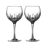 Waterford Lismore Essence Balloon Wine Glasses Set Of 2