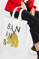 Urban Outfitters Bananas Tote Bag Neutral