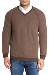 Tommy Bahama Men's Big And Tall Make Mine A Double Sweater Dark Nubuck