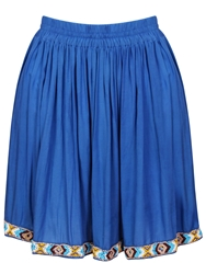 Red Soul Edith Vintage Skirt Blue