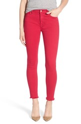 Women's 7 For All Mankind 'Josefina' Destroyed Boyfriend Jeans Fuchsia Rose