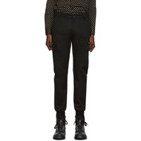 Paul Smith Ps By Black Military Jogger Trousers