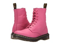 Dr. Martens Pascal 8 Eye Boot Hot Pink Virginia Women's Lace Up Boots