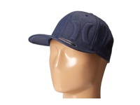 Hurley Bump 4.0 Flexfit Permacurve Hat Midnight Navy Caps Blue