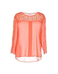Clips More Blouses Coral