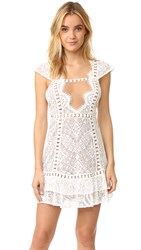 For Love And Lemons Emerie Dress White