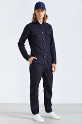 Shades Of Grey By Micah Cohen Mechanic Jumpsuit Dark Blue