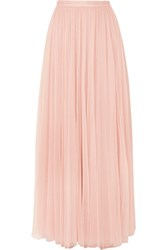 42190667648 Needle And Thread Tulle Maxi Skirt Blush Gbp