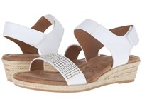 Softspots Beck White Sheep Nappa Pu Women's Wedge Shoes