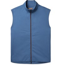 Loro Piana Green Storm System Shell Gilet Blue