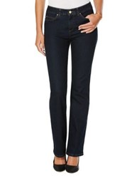 Rafaella Slimming Boot Cut Jeans Dark Indigo