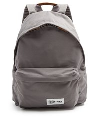 Eastpak Pak'r Canvas Backpack Grey