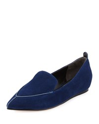 Bonita Suede Loafer Navy Charles David