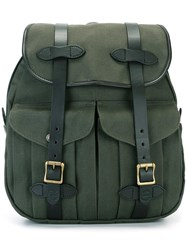 Filson Two Strap Backpack Green