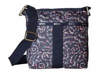 Le Sport Sac Essential Crossbody Fairy Floral Blue Cross Body Handbags Black