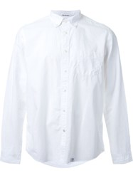 Bedwin And The Heartbreakers Button Down Shirt White